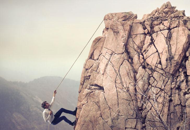 Hard Work Climbing